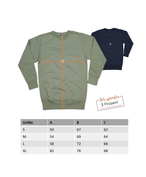 Grössenangaben-Lake-Siders-Easy-sweat-olive-3